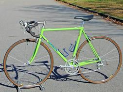Scapin Columbus EL Fillet Brazed Road Bike Handmade 1990s Ca