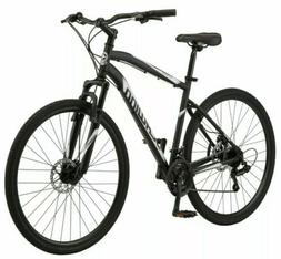 Schwinn 700c Glenwood Men's Hybrid Bike, Black - IN STOCK JU
