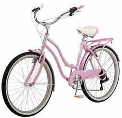 Schwinn Perla Womens Beach Cruiser Bike, 26-Inch Wheels, Mul