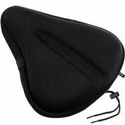 Seat Clamps Zacro Big Size Exercise Bike Seat, Soft Wide Gel