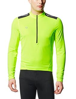 Pearl iZUMi Men's Select Quest Long Sleeve Jersey, Screaming