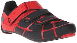Pearl iZUMi Men's Select RD IV Cycling Shoe, Black/True Red,