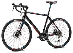 Mongoose Selous Comp Gravel Road Bike 700cm Wheel, Black, 61