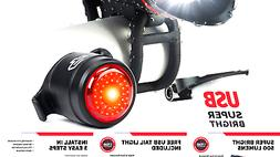 shark 500 usb rechargeable bicycle