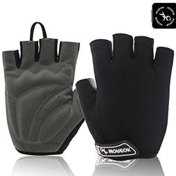 MOREOK Shock-Absorbing Breathable Anti Slip Reflective Cycli