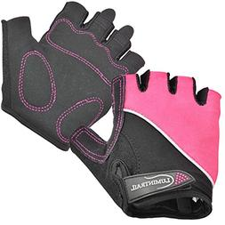 Lumintrail Shock Absorbing Half-Finger Riding Cycling Gloves