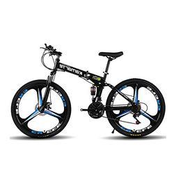 Omeng Shock speed mountain bike bicycle folding aluminum all
