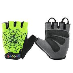 Shockproof Cycling Gloves for children Kids MTB Road Bike Bi