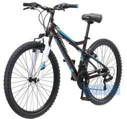 Mongoose Silva - Front Suspension Bicycle, Women's ATB, Blac