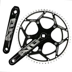 Single Speed Crankset Set 60T 170mm Crankarms 130 BCD CYSKY