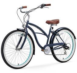 sixthreezero Women's 26-Inch Beach Cruiser Bicycle Classic D