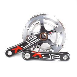 FSA SL-K Light Compact Carbon Road Bike Crankset EVO386 34/5