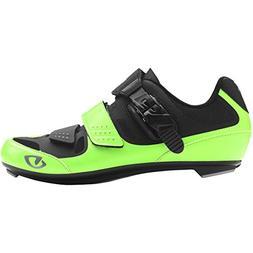 Giro Solara II Womens Road Cycling Shoes Highlight Yellow/Bl