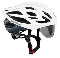 Tommaso Sole Lightweight Cycling Helmet Retractable Eye Shie
