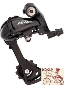 Shimano Sora R3000-GS Medium Cage Rear Derailleur Black
