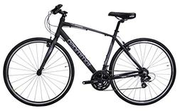 Tommaso Sorrento -Shimano Tourney Hybrid Fitness Bike - Blac