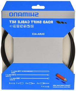 Shimano Spares Road gear cable set, Polymer coated stainless