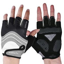 Specialized Black Men Half Finger Cycling Gloves ,Mountain B