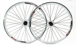 Speed Aero 700c Road Bike Double Wall Alloy Wheelset 8-10 Sp