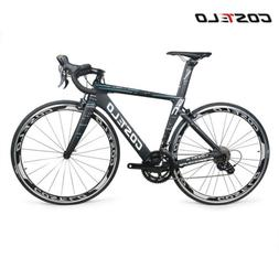 Costelo Speedcoupe road bike carbon complete bicycle frame w