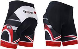 sponeed Bike Shorts for Men Padded Tights Bicycle Pants Cycl