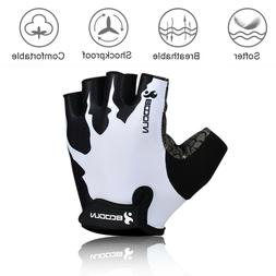 Sport Cycling Gloves Half Finger Bicycle Gel Pad MTB Road Bi