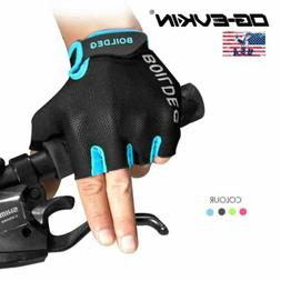 MTB Road Bike Bicycle Cycling Gloves Half Finger GEL Anti-sl