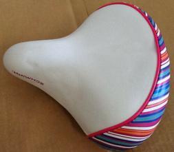 SCHWINN SPRING COMFORT WHITE SADDLE/SEAT 158
