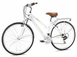 Kent Northwoods Springdale Women's Hybrid Bicycle, White