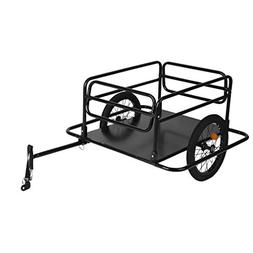 Blackpoolfa Steel Bike Cargo Trailer with Connector | Bicycl