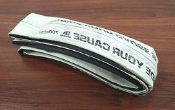 Duro Stinger 700 x 23 Road Bike Tire, Folding, White