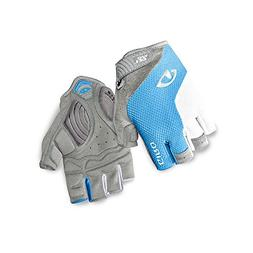 Giro Strada Massa SG Womens Cycling Gloves Blue Jewel/White