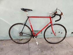 super sport vintage road bike bicycle
