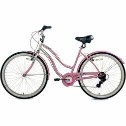 Susan G Komen 7-Speed Beach Cruiser Bike