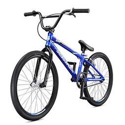 Mongoose Title Pro Boy's Freestyle BMX Bike, Blue