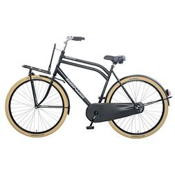 Hollandia Men's Transport M Dutch City Cruiser Bike, Black,