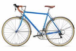 6KU Troy 16-Speed Classic Road Bike, Full Cr-Mo City Retro C