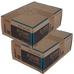 2 Pack Tubes, 700c x 23-25  80mm PRESTA Valve