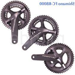 Shimano Ultegra FC-R8000 Road Bike Crankset 2x11S 165/170/17