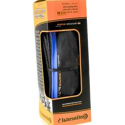Continental Ultra Sport 2 Road Bike Tire, Blue/Black, 700x25