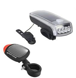 Ultra Bright Bicycle Lights Set - Front Headlights & Horn &