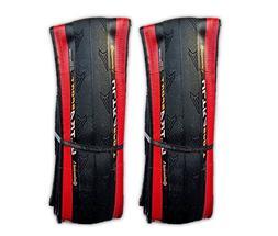 Continental Ultra Sport II 700x25c Red & Black Road Bike Fol