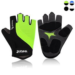 Trideer Ultralight Cycling Gloves  – Breathable Lycra & An