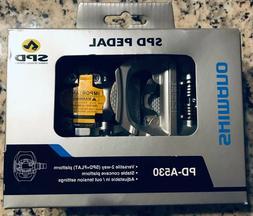 Shimano Unisex PD-A530 SPD Road Dual Platform Pedal One Size