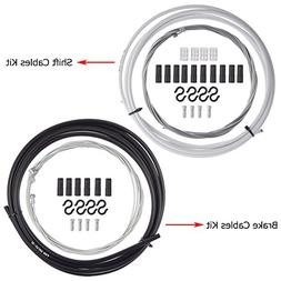 PChero Universal Bike Shift and Brake Cable Sets, Bicycle Br