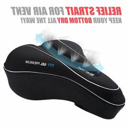 Universal Road Bike Gel Seat Cushion Cover Mountain Bicycle