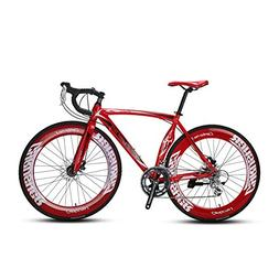 VTSP Upgrade XC700 Road Bike Red Road Bicycle for Man 56CM 7