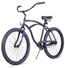 Firmstrong Urban Man Alloy Single Speed Beach Cruiser Bicycl