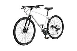 Pure Cycles 8-Speed Urban Commuter Bicycle, Frey White, Larg