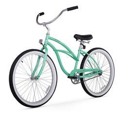 Firmstrong Urban Lady Single Speed Beach Cruiser Bicycle, 24
